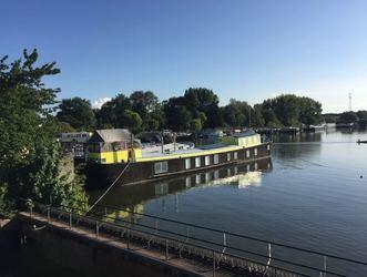 Beautiful houseboat The Island - Amsterdam - Quiet lake Amsterdam