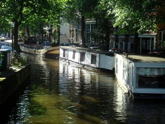 Houseboat in Old Center - Amsterdam - The Historic Center